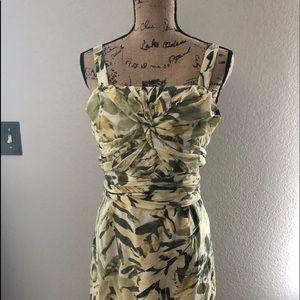 Dress floral Banana Replubic size 14